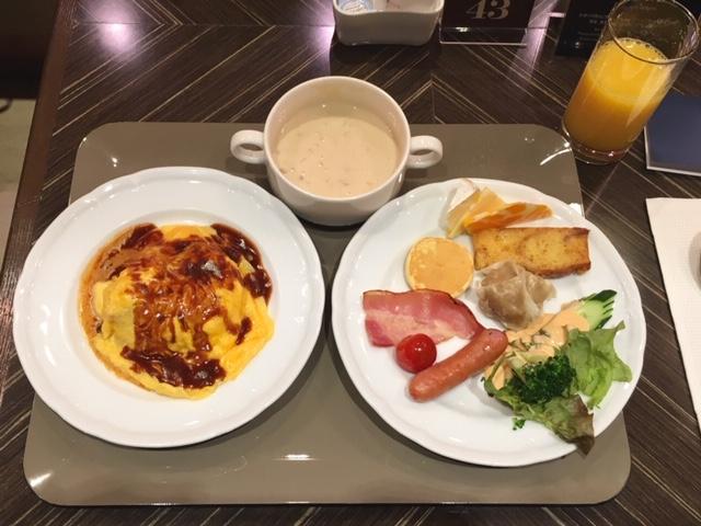 横浜シェラトンのコンパス朝食