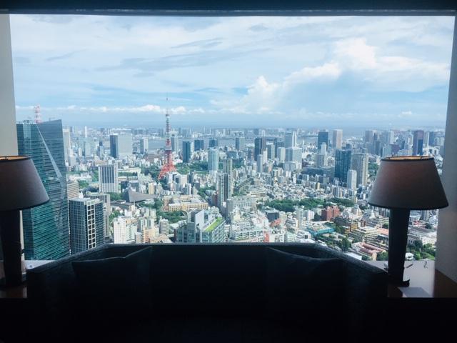 リッツカールトン東京のアップグレード