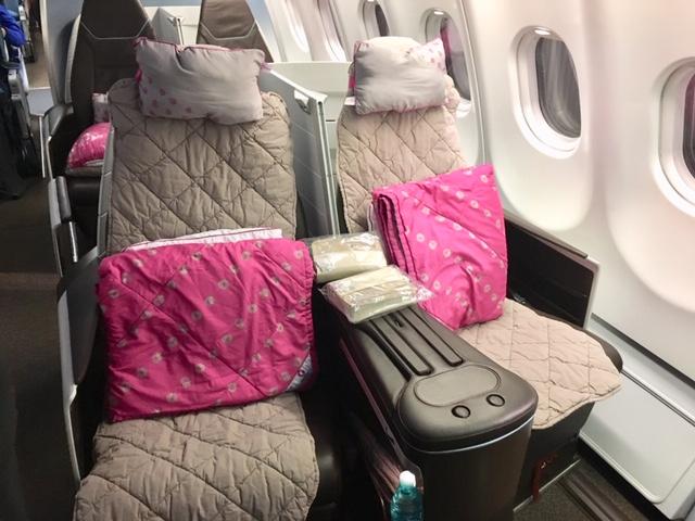ハワイアン航空ビジネスクラス