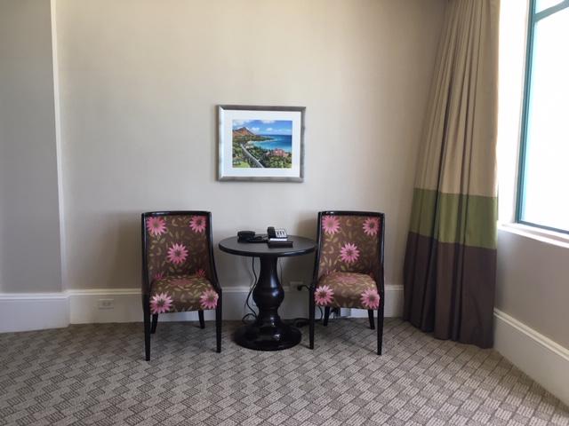ロイヤルハワイアンホテルのスイートルーム
