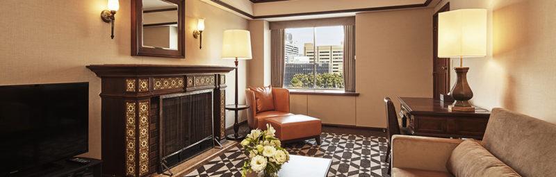 品川プリンスホテルのスイートルーム