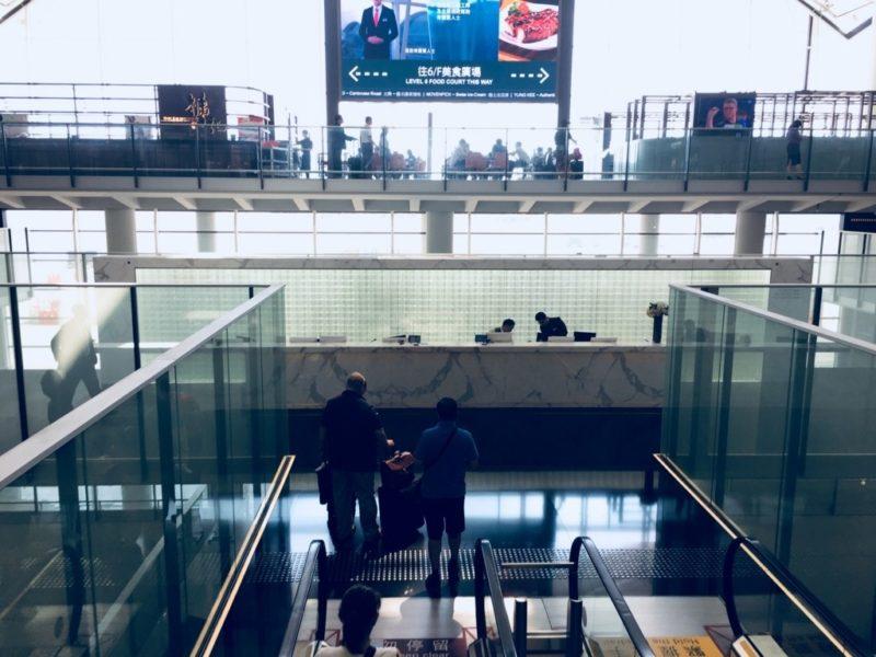 キャセイパシフィック香港国際空港ビジネス