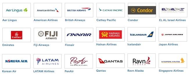 アラスカ航空提携航空会社