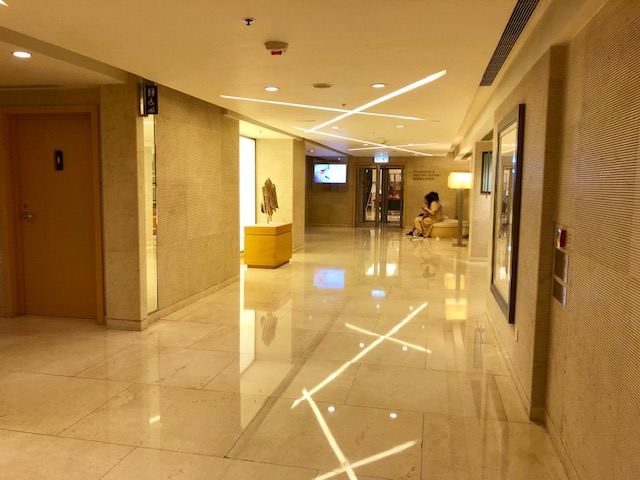 香港スカイシティマリオットホテルのジム