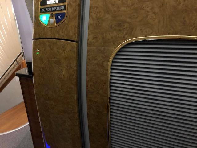 エミレーツA380ファーストクラスのシート