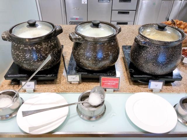香港スカイシティマリオットホテルの朝食