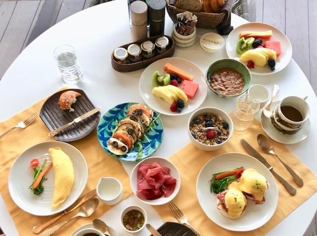 ブルガリ リゾート ドバイの朝食