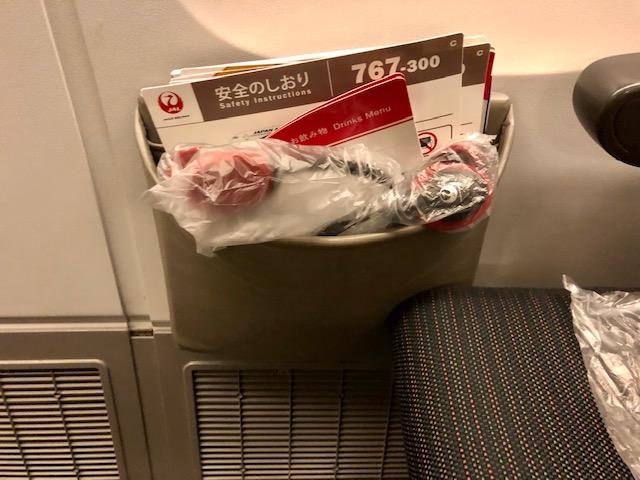 JAL非常口席