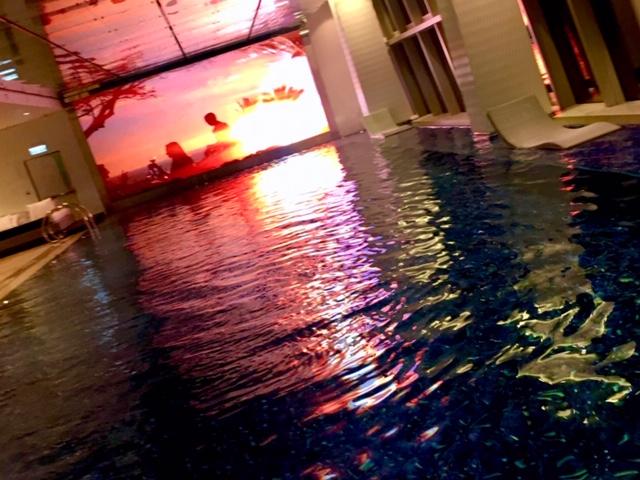 リッツカールトン香港のプール