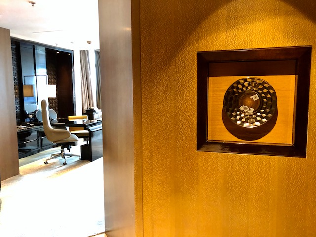 リッツカールトン香港のスイートルーム