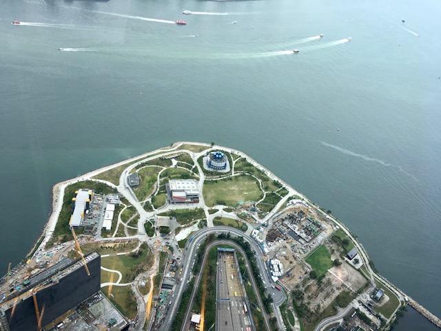 ザ・リッツ・カールトン スパ 香港の眺望