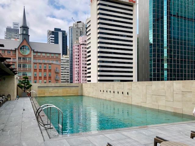 セントレジス香港プール