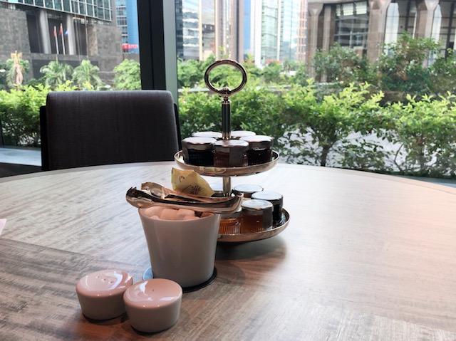セントレジス香港の無料朝食