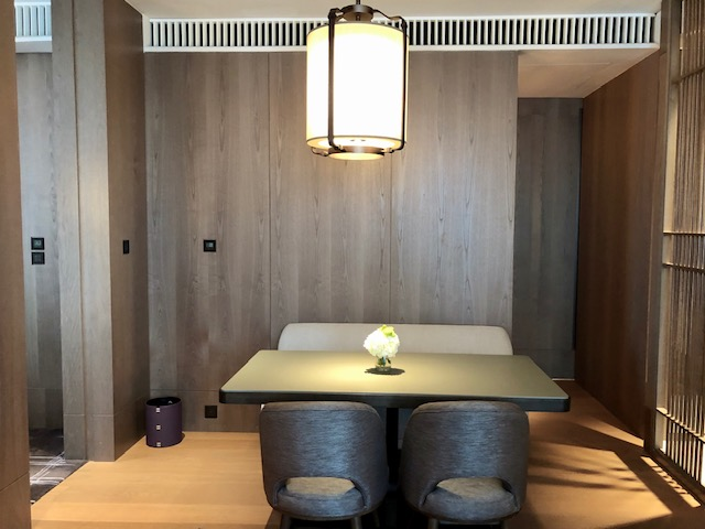 セントレジス香港のスイートルーム