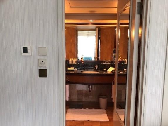 JWマリオット香港スイートルーム
