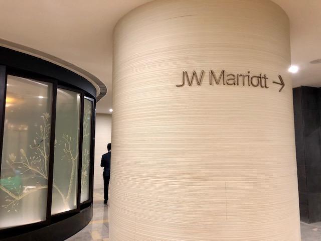 パシフィックプレイス内JWマリオット香港