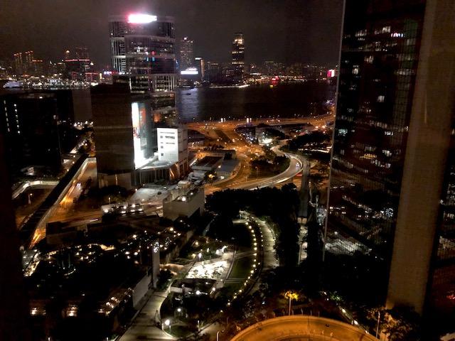 JWマリオット香港の夜景