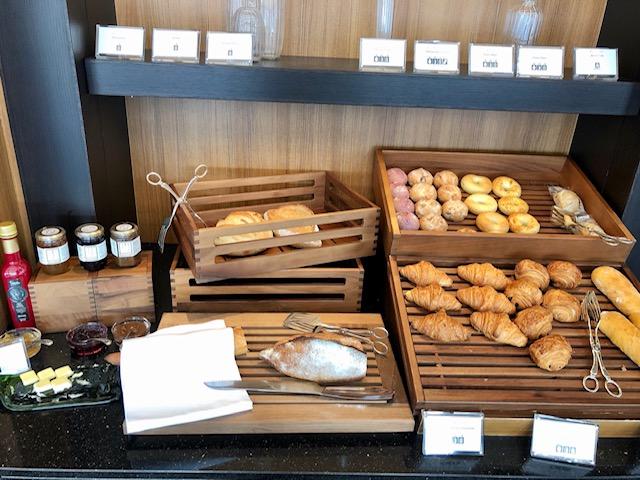 名古屋マリオットのコンシェルジュラウンジの朝食