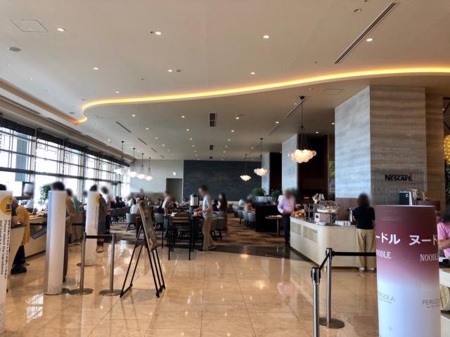 名古屋マリオットホテルのパーゴラ