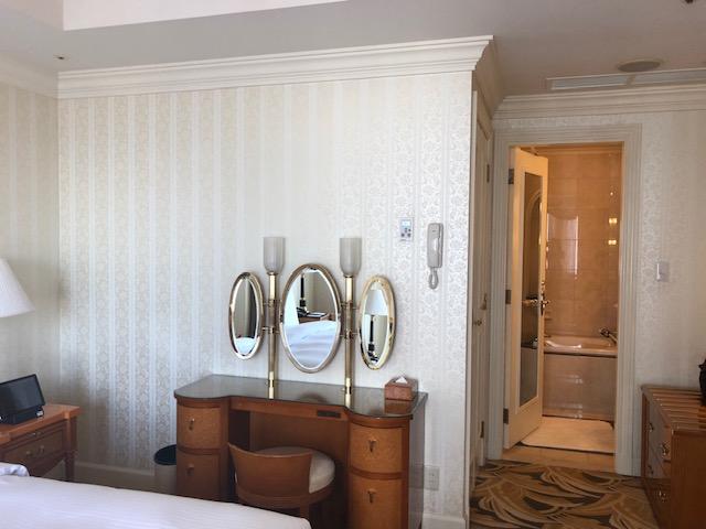 名古屋マリオットホテルのスイートルーム
