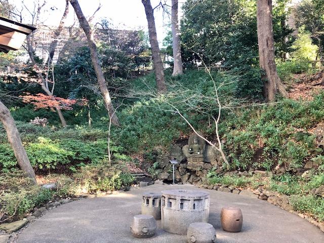 シェラトン都ホテル東京の日本庭園