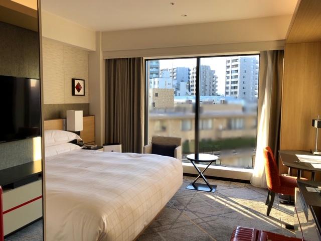 シェラトン都ホテル東京のプレミアムフロア