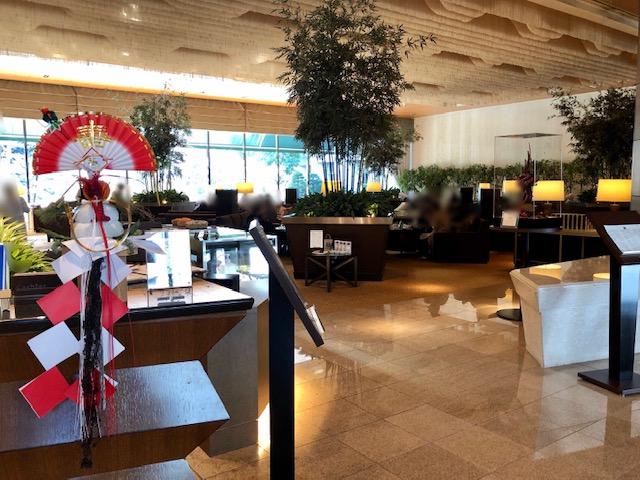 シェラトン都ホテル東京のラウンジバンブー