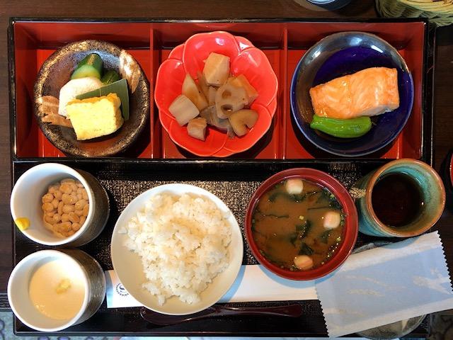 シェラトン都ホテル東京 朝食の和定食