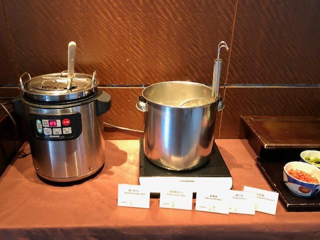 シェラトン都ホテル東京 四川の朝食ブッフェ