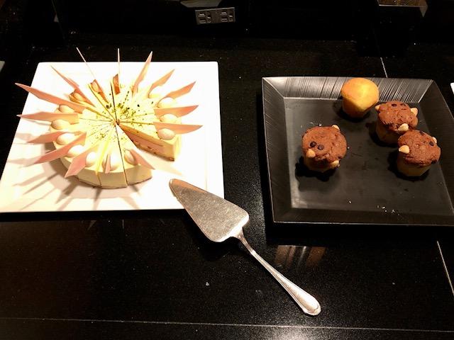 ウェスティンホテル東京のエグゼクティブクラブラウンジ
