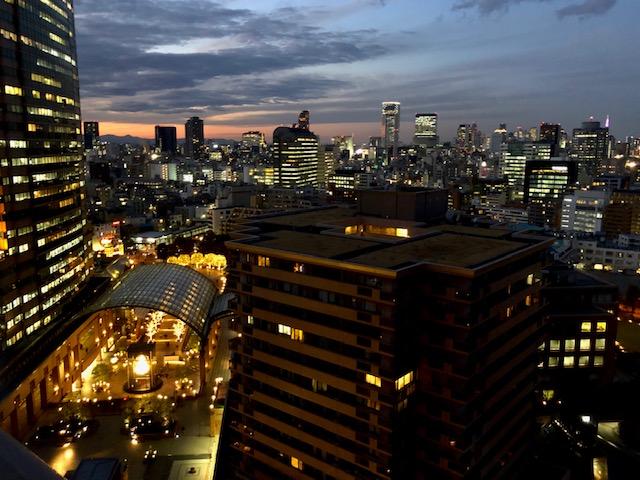 ウェスティンホテル東京夜景