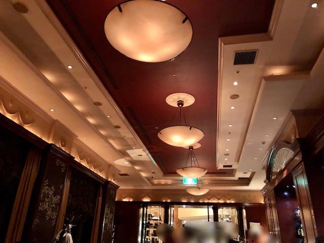 ウェスティンホテル東京のザバー