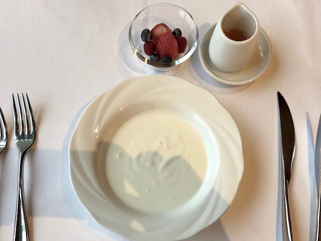 ウェスティンホテル東京のセレブリティブレックファスト