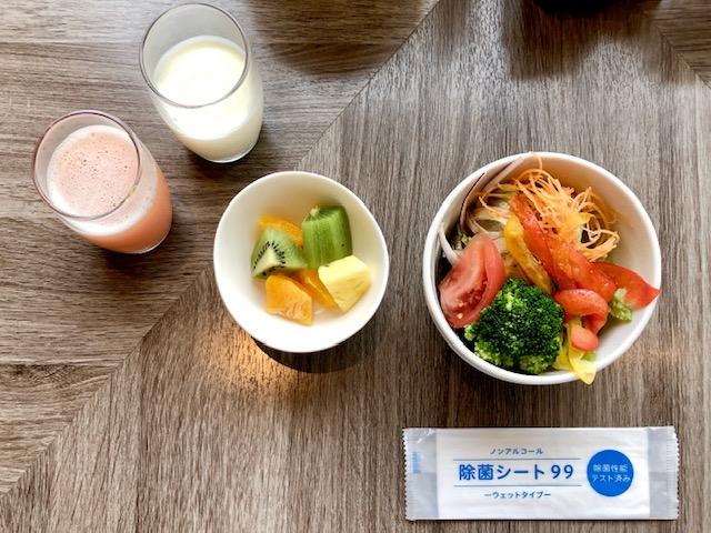 コートヤード新大阪ステーションの朝食