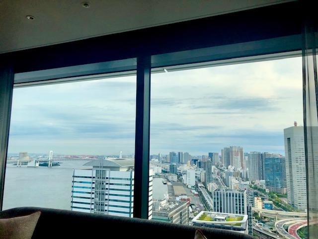 メズム東京の眺望