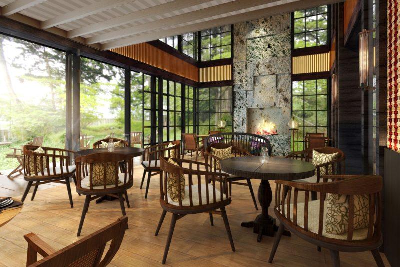 リッツカールトン日光のレストラン