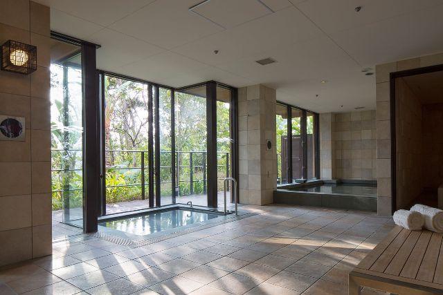 リッツカールトン沖縄の大浴場