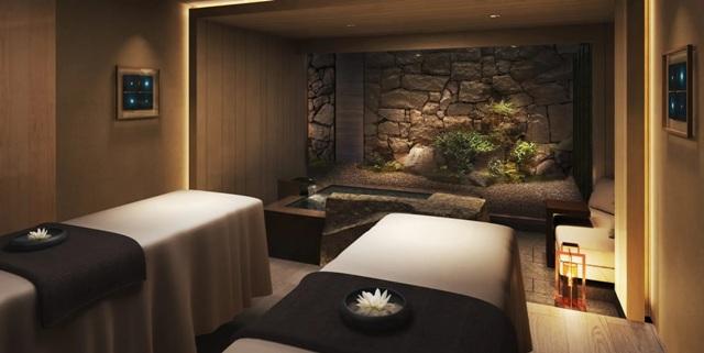 HOTEL THE MITSUI KYOTOスパ