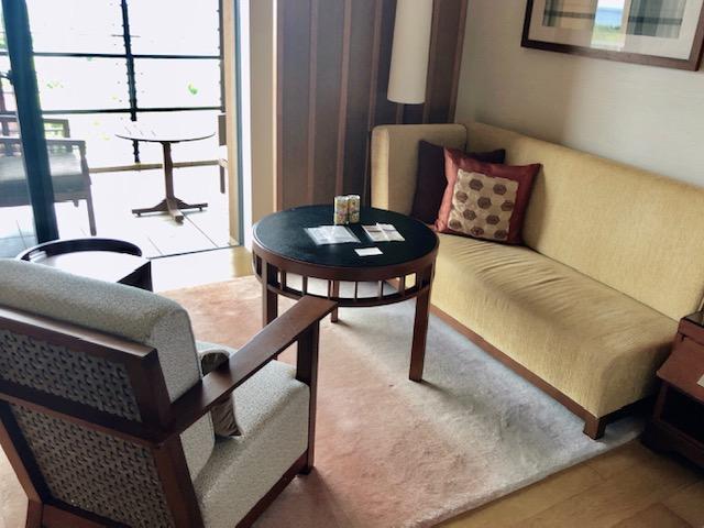 リッツカールトン沖縄の客室