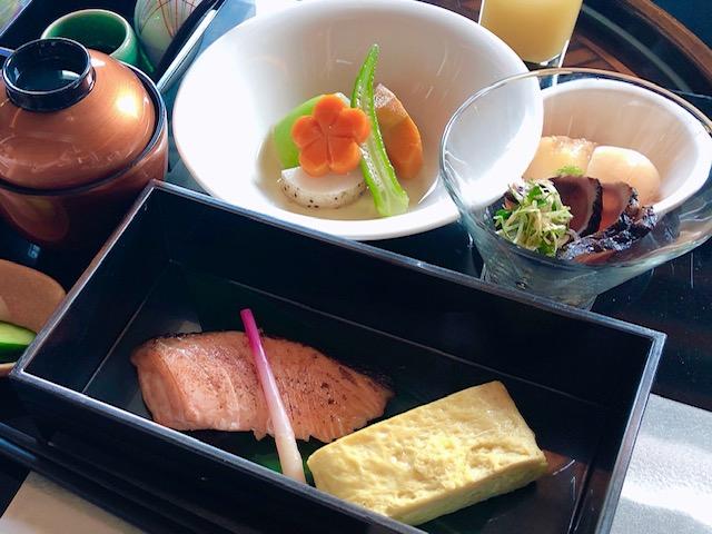 セントレジス大阪の和朝食