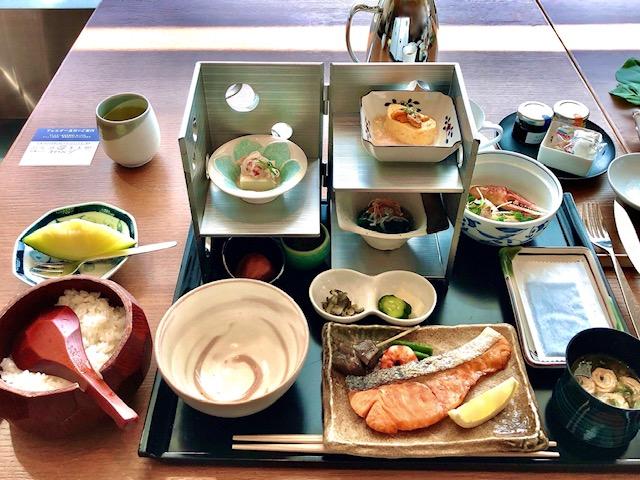 プリンスギャラリー紀尾井町の和朝食