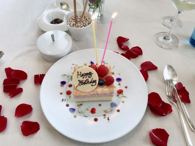 セントレジスホテル大阪 バースデーケーキ
