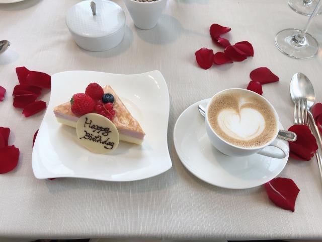 セントレジスホテル大阪 誕生日ケーキ
