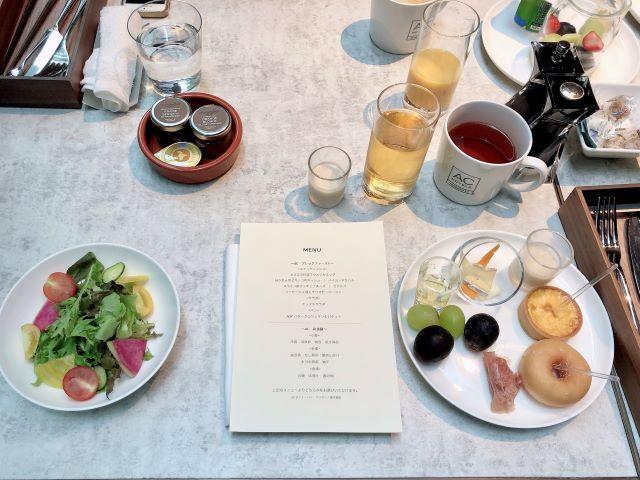 ACホテル銀座朝食