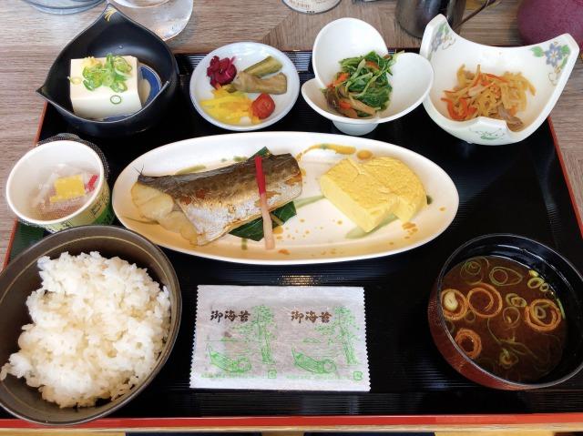 コートヤード新大阪の和朝食