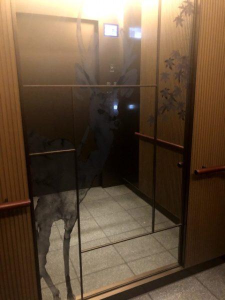 JWマリオット奈良エレベーター