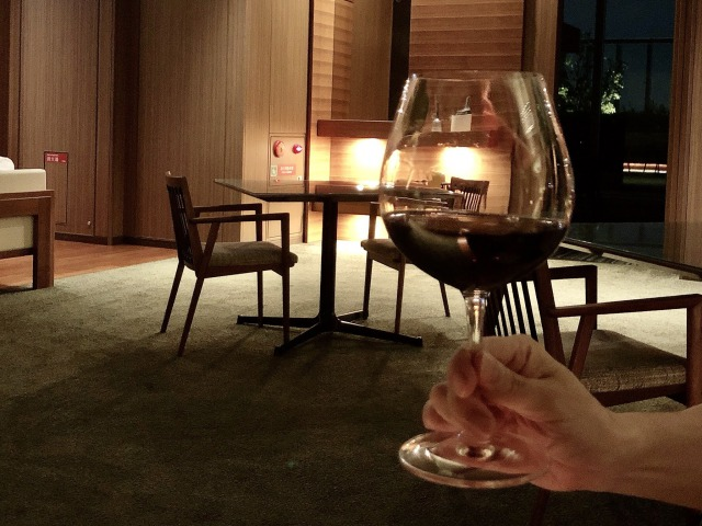大阪マリオット都ホテル クラブラウンジのカクテルタイム
