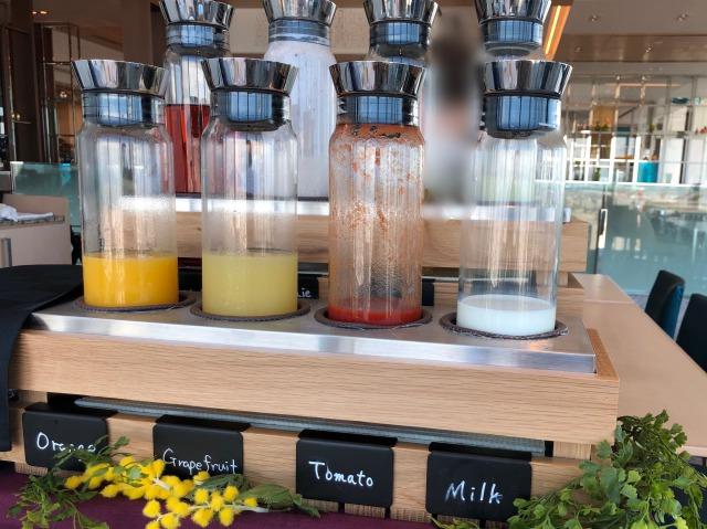 大阪マリオット都ホテルの朝食