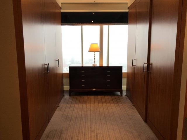 リッツカールトン東京スイートルーム