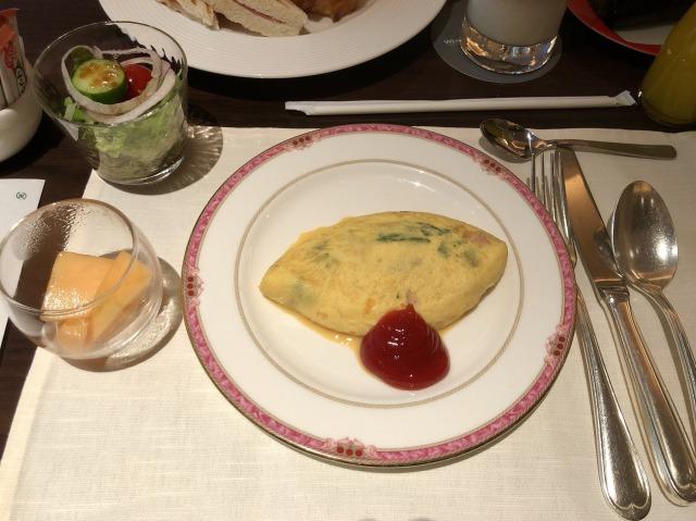 ウェスティン東京 朝食ブッフェ